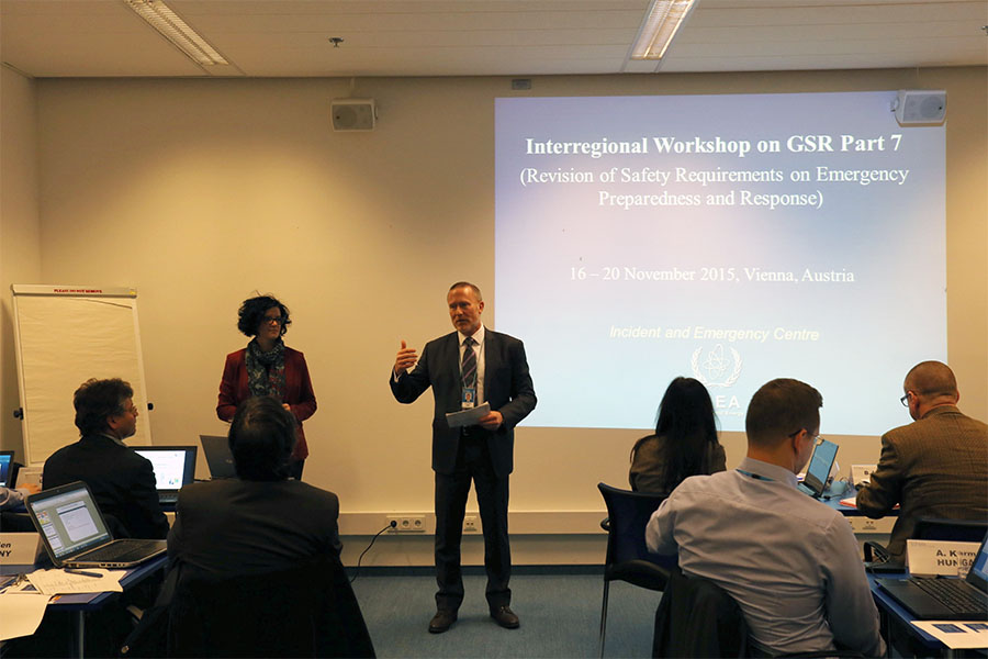 Nuevas Normas de Seguridad del OIEA refuerzan la Respuesta a Emergencias