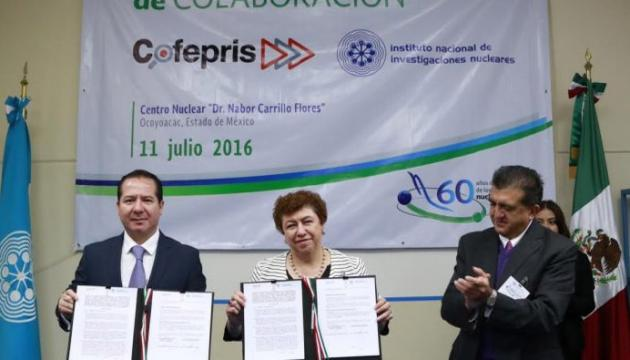 México: ININ y COFEPRIS firman acuerdo en capacitación en Medicina Nuclear