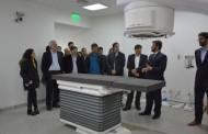 Destacan avances en la obra del Centro de Medicina Nuclear en Santa Cruz