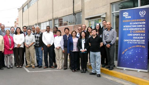 Rep. Dominicana: Tercer Curso Regional sobre e-learning en Educación y Capacitación Nuclear