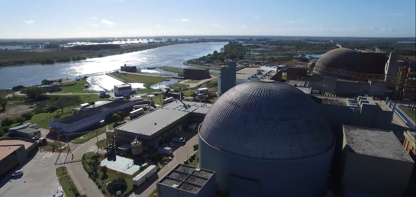 Argentina: Récord de generación nuclear