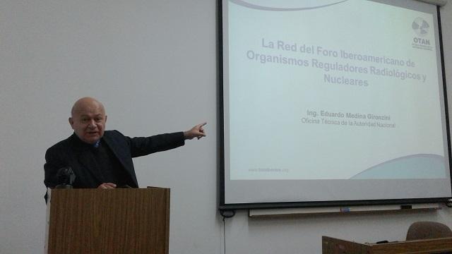 Presentación de la Red del FORO en el Centro Nuclear de Huarangal