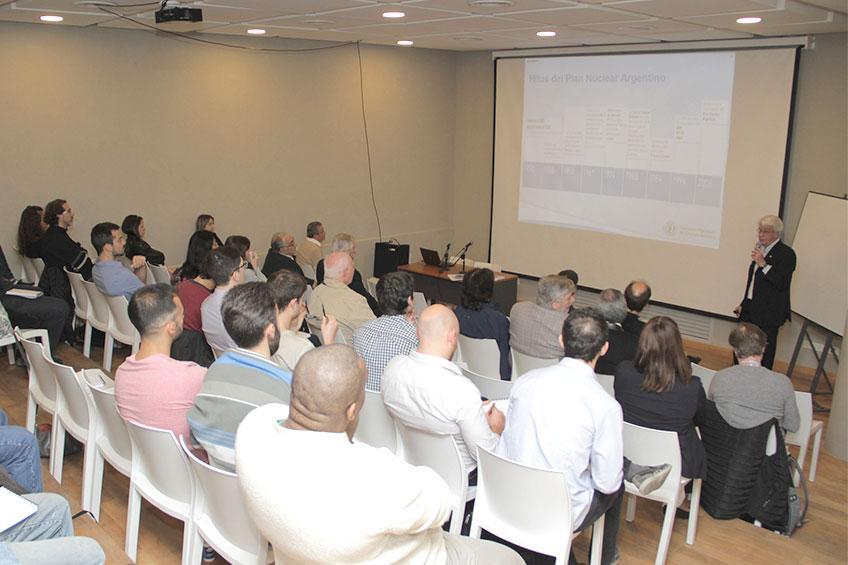 Conferencia: Principales proyectos nucleares en Argentina
