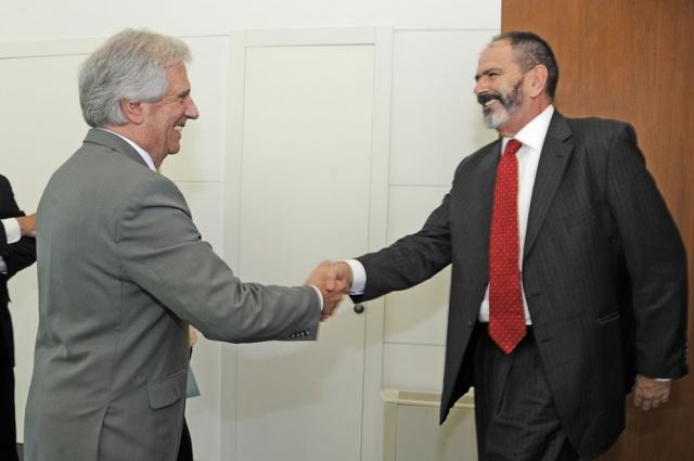 Director regional de Organismo de Energía Atómica de ONU se reunió Vázquez