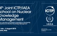 Postulaciones para la Escuela de Gestión del Conocimiento Nuclear 2018 del OIEA en Italia