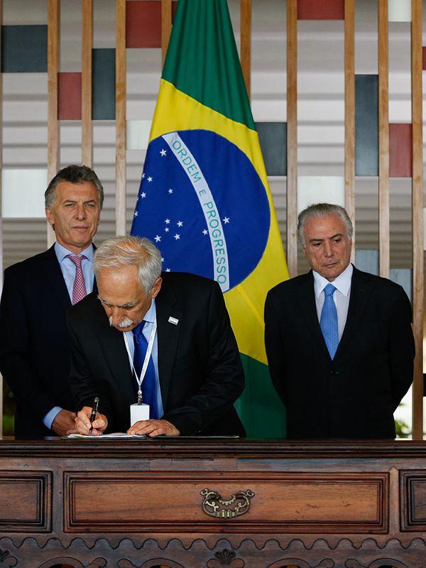 INVAP junto a Fundación PATRIA (Brasil) firmaron una nueva etapa de ejecución del RMB