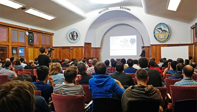 Premio Nobel de Física participó de un encuentro internacional en el Instituto Balseiro