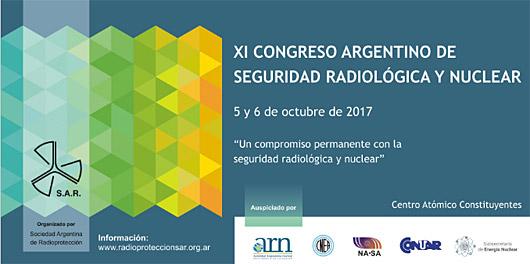 XI Congreso Argentino de Seguridad Radiológica y Nuclear
