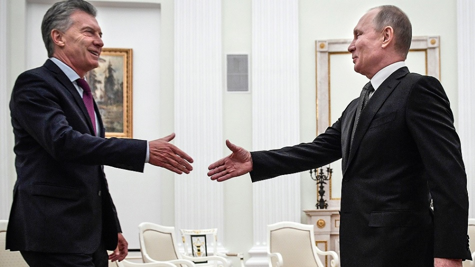 Avanza la cooperación ruso-argentina tras el encuentro oficial entre Macri y Putin