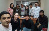 Estudiantes bolivianos en MEPhI