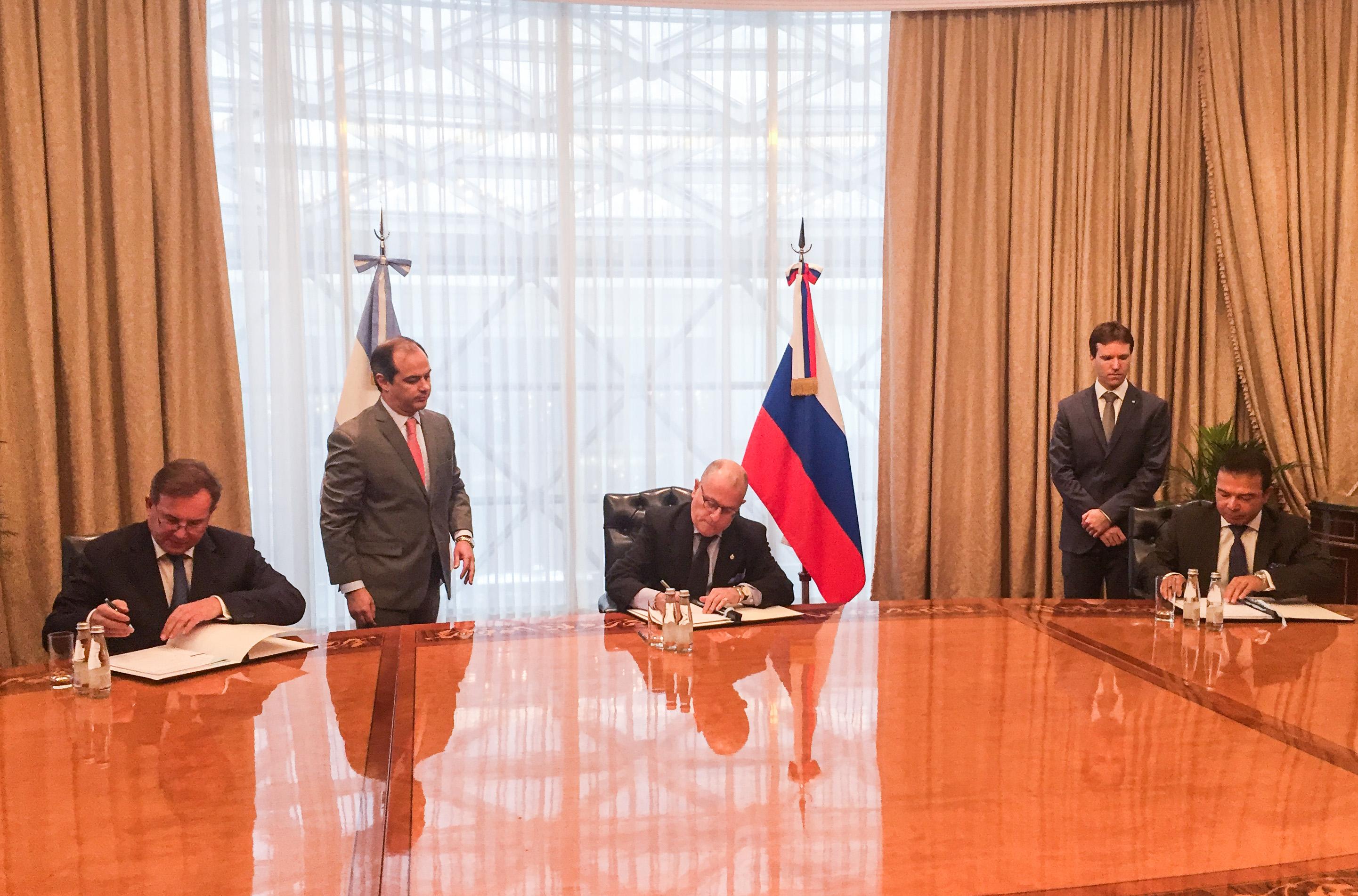 Rosatom y el Ministerio de CyT de Argentina firman Memorándum de cooperación para desarrollar tecnologías de extracción de uranio