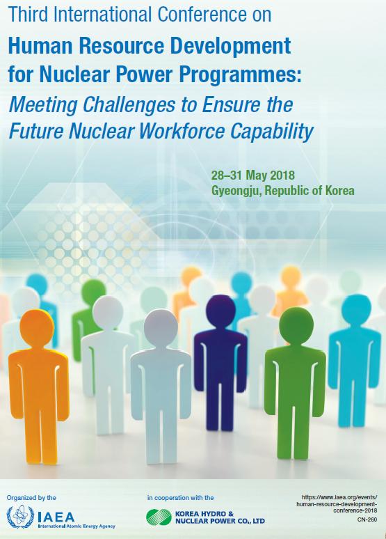 Tercera Conferencia Internacional sobre el desarrollo de recursos humanos para programas nucleoeléctricos