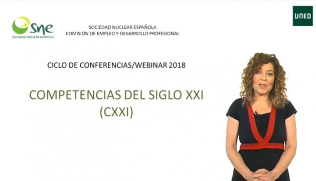 Ciclo de Conferencias y Webinars de la Sociedad Nuclear Española
