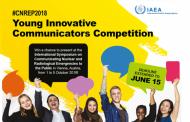 Hasta el 15 de junio: Envío de trabajos para la competencia de jóvenes comunicadores nucleares en Austria