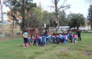Alumnos visitan la reserva aledaña a la central nuclear Embalse