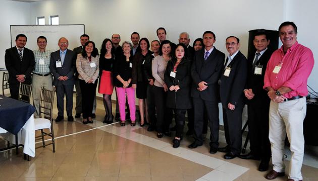 Reunión Parcial de Coordinación del proyecto ME-RLA0057-1705271 de la Cooperación Técnica de la AIEA en Ecuador