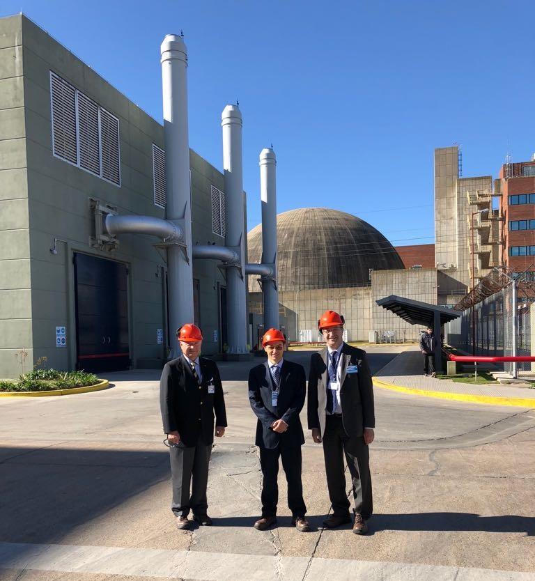 Nucleoeléctrica Argentina y organismo belga extendieron cooperación bilateral en asuntos de energía nuclear
