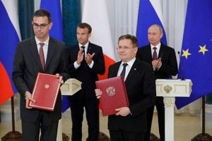 Francia y Rusia intensifican su colaboración en energía nuclear
