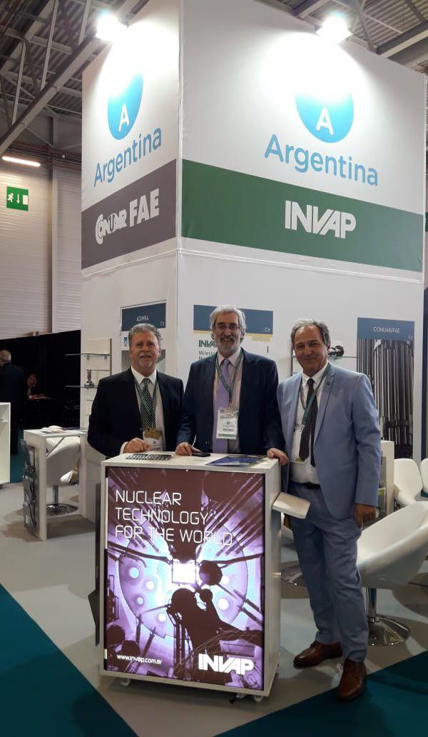 Argentina presente en la World Nuclear Exhibition 2018