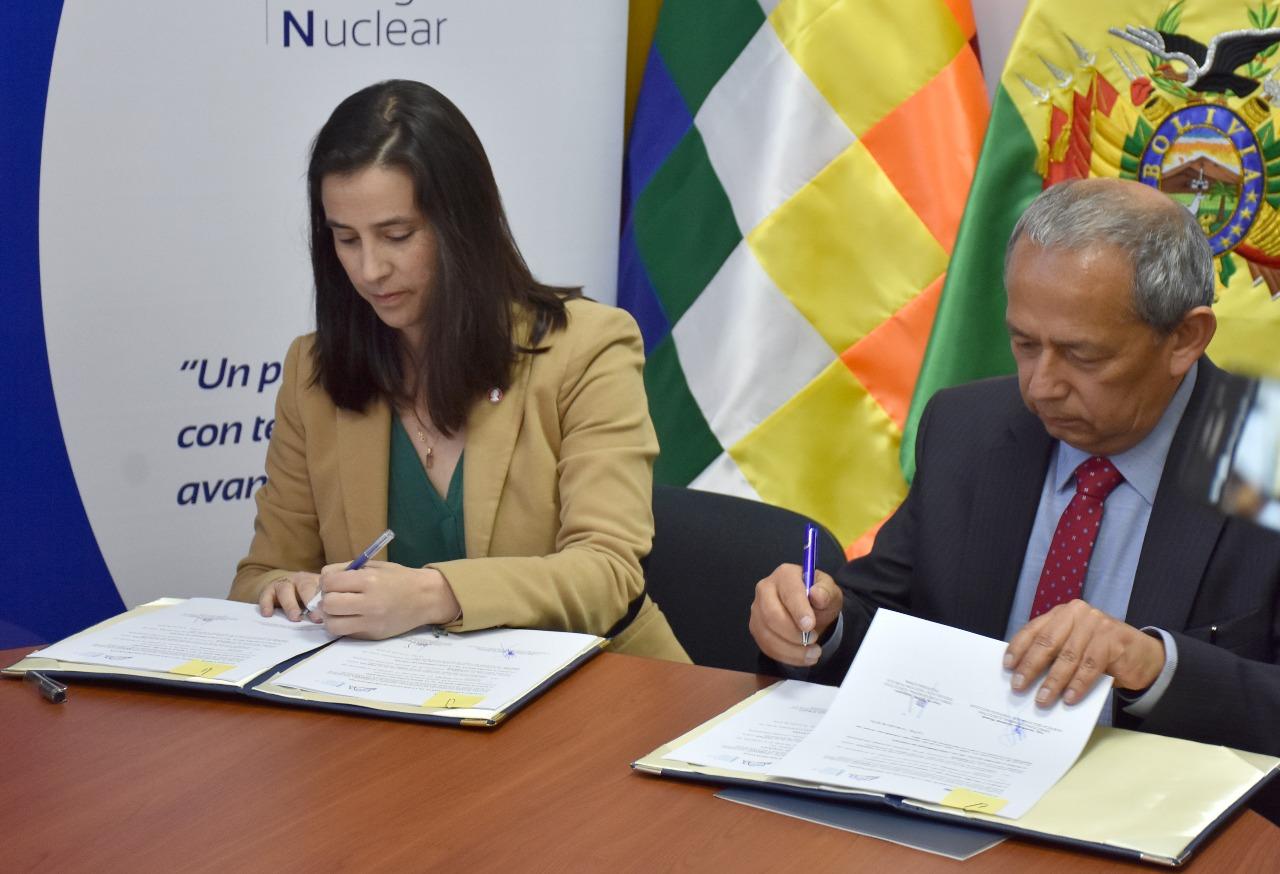 Bolivia: ABEN Y EGPP FIRMAN CONVENIO PARA CAPACITAR EN TECNOLOGÍA NUCLEAR