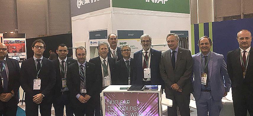 CNEA presente en la World Nuclear Exhibition 2018