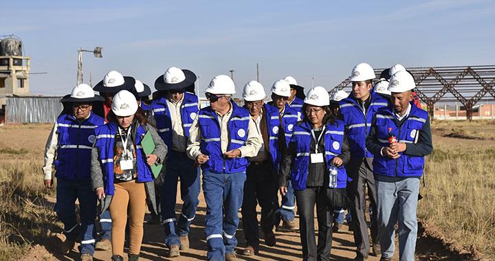 Bolivia: LEGISLADORES PONDERAN AVANCE DE LA CONSTRUCCIÓN DEL CENTRO DE INVESTIGACIÓN NUCLEAR