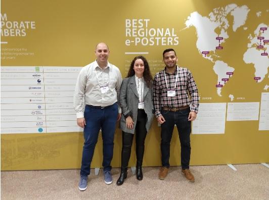 PROFESIONALES DE FUESMEN RECONOCIDOS EN EL EANM 2018 EN DUSSELDORF, ALEMANIA