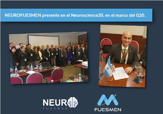 NEUROFUESMEN presente en el Neuroscience20, en el marco del G20