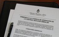 La ARN emitió la Enmienda a la Licencia de Operación  de la Central Nuclear Embalse