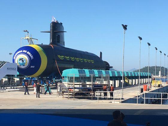 Detalles sobre el primer submarino de propulsión nuclear de BRASIL