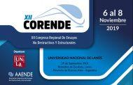 XII Congreso Regional de Ensayos No Destructivos y Estructurales