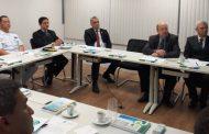 La ABACC recibe a representantes de la Armada para conferencias técnicas