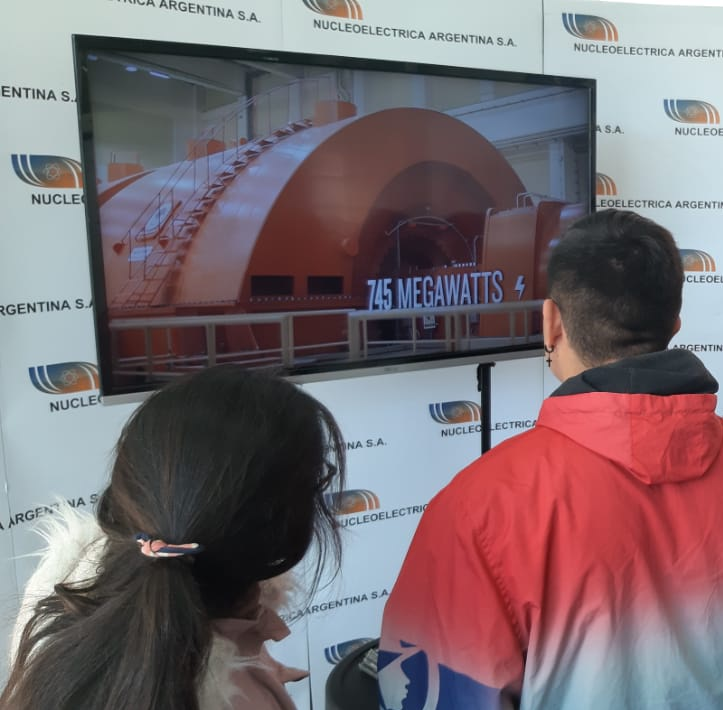NUCLEOELÉCTRICA PARTICIPÓ DE EXPO JOVEN 2019 EN CAMPANA