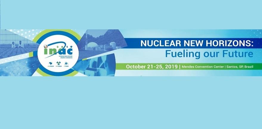 Para agendar: Conferencia Internacional Nuclear Atlántica (INAC 2019)