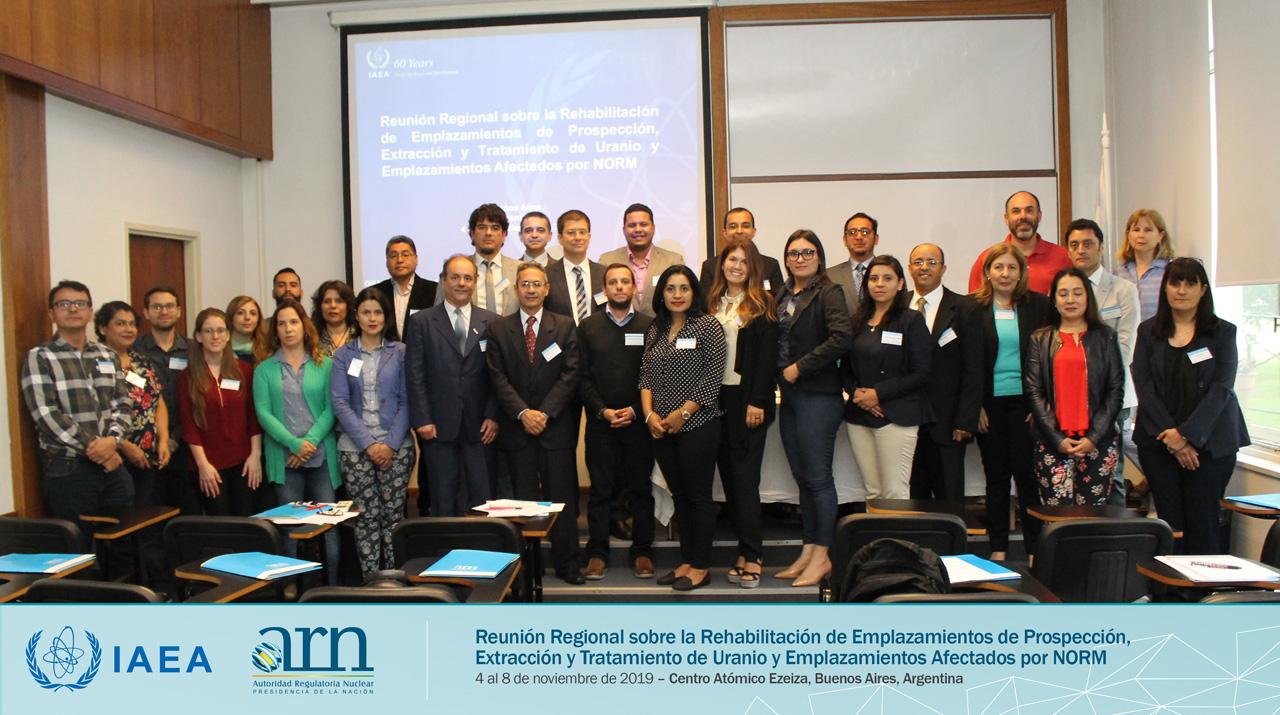 Minería de uranio: reunión regional de ARN y el OIEA sobre rehabilitación de sitios