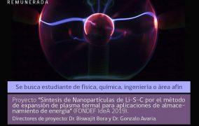 Chile: búsqueda para tesis de Magíster remunerada