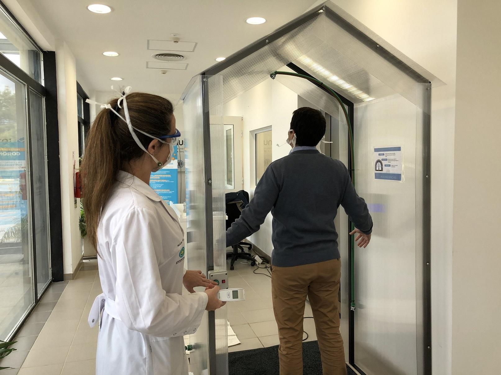 Cabina desinfectante: tecnología y salud
