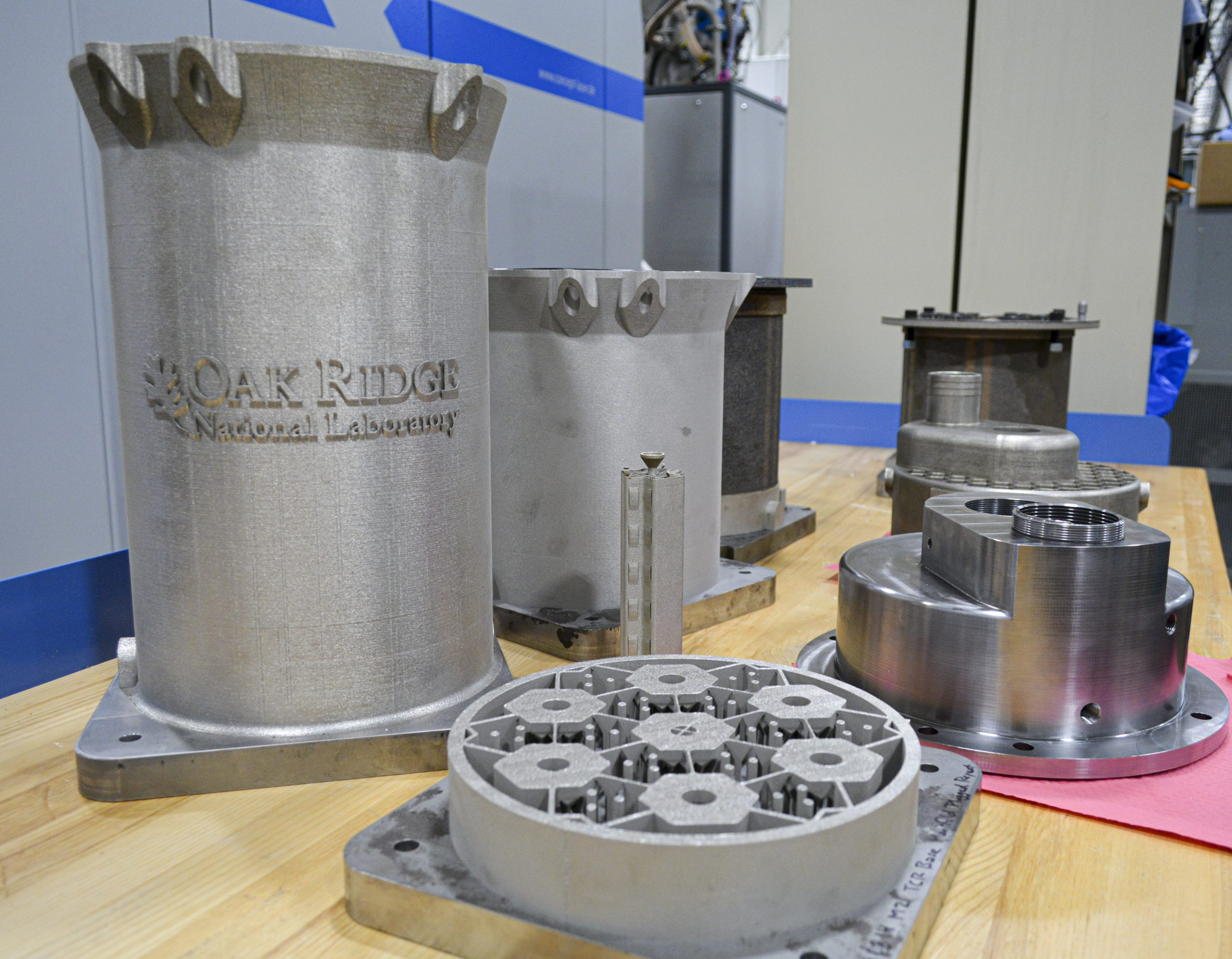 Primer reactor nuclear impreso en 3D en diseño