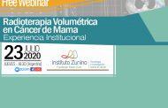 INVITACIÓN: Free webinar sobre Radioterapia volumétrica en Cáncer de Mama