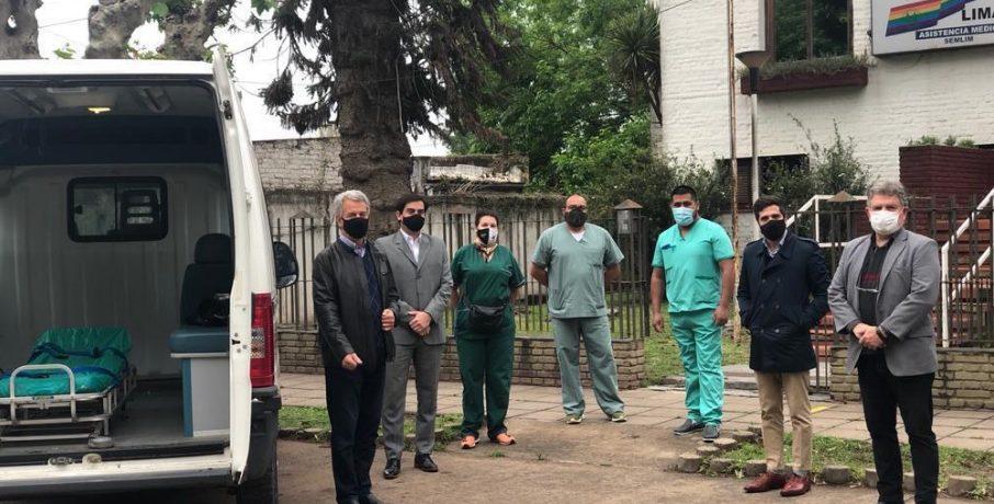 Nucleoeléctrica entregó una ambulancia a la Cooperativa de Servicios Públicos de Lima
