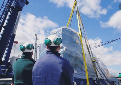 Se completó el montaje de los grandes componentes del reactor multipropósito RA-10