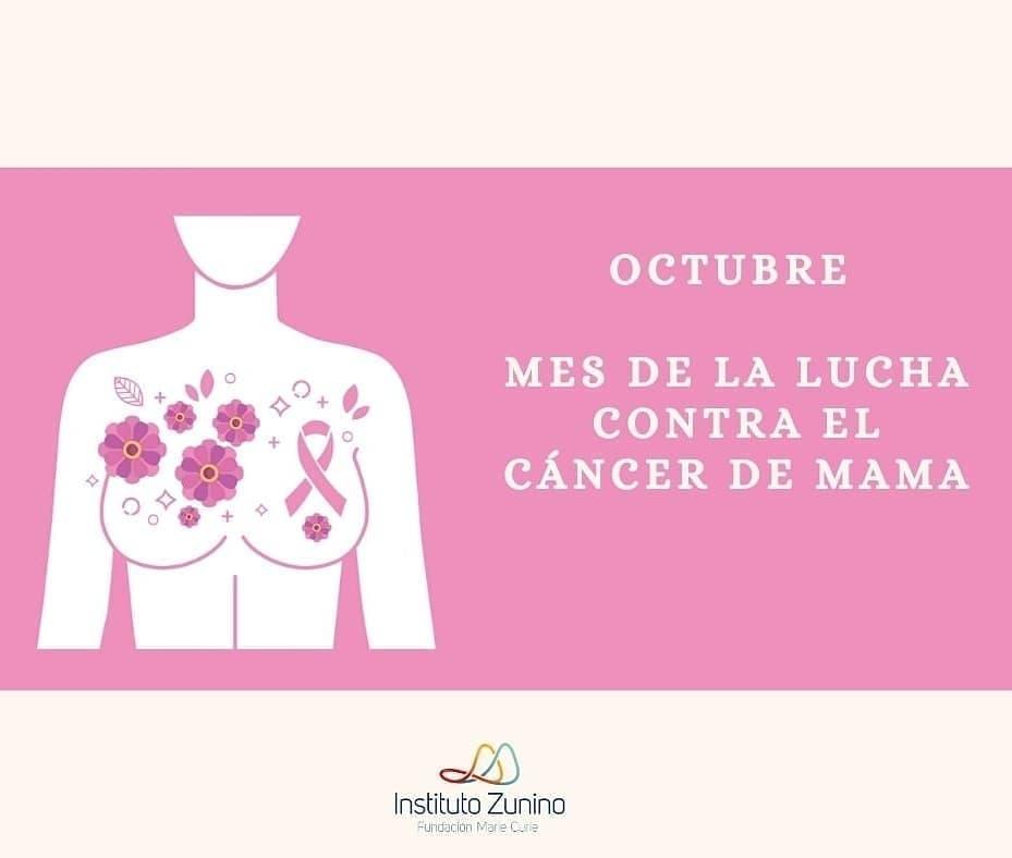 Mes de la lucha contra el cáncer de mama