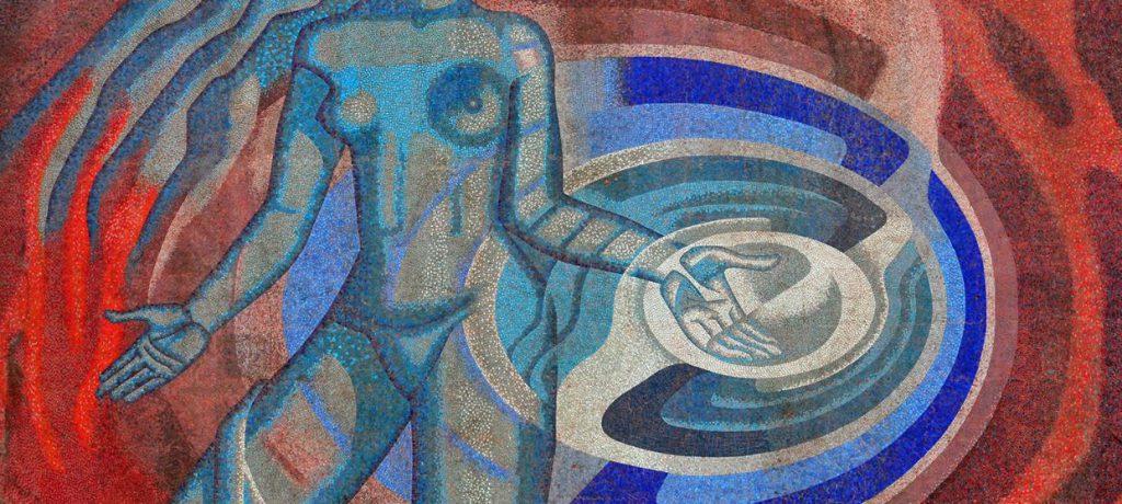 Arte nuclear: mural mexicano