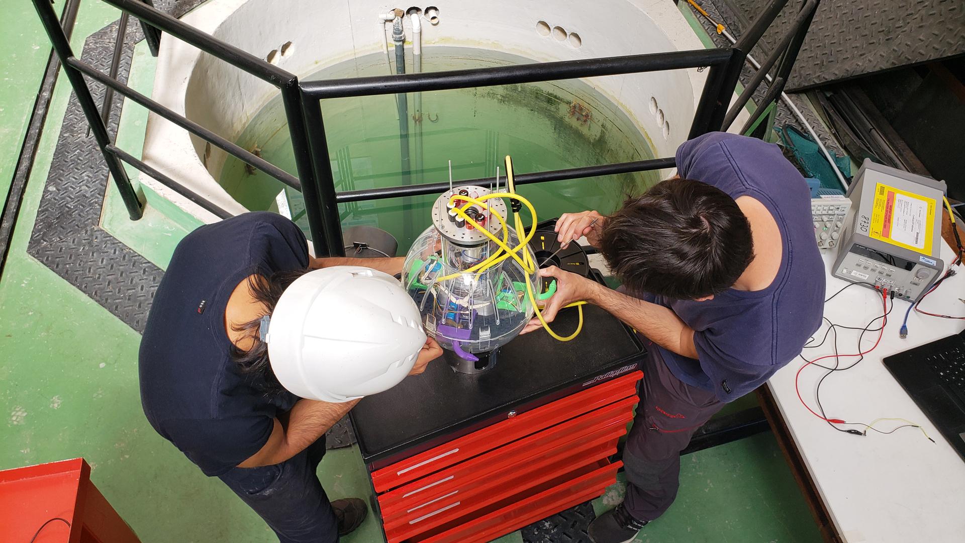 Un robot subacuático para inspeccionar centrales nucleares fue reconocido en el concurso IB50K