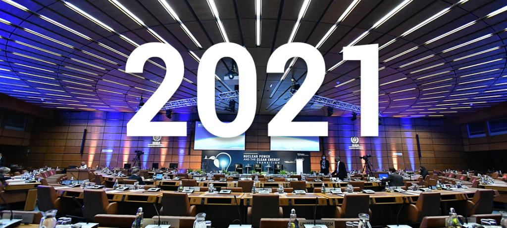 Eventos importantes del OIEA en 2021