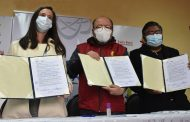 AGENCIA BOLIVIANA DE ENERGÍA NUCLEAR FIRMA ACUERDO CON SALUD