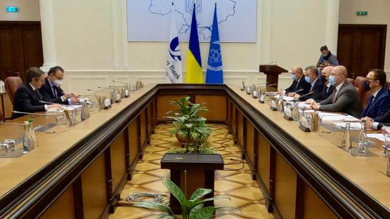 OIEA y el Banco Europeo de Reconstrucción y Desarrollo seguirán trabajando juntos en la Zona de Exclusión de Chernobyl
