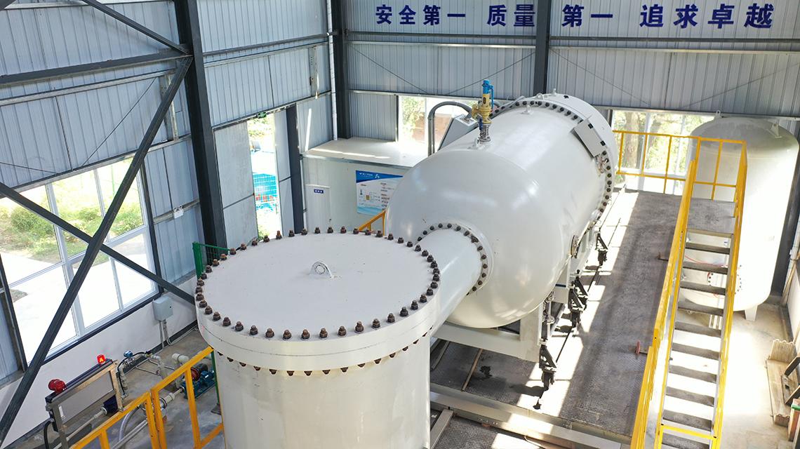China: primera instalación de Asia para tratar aguas residuales médicas utilizando haces de electrones