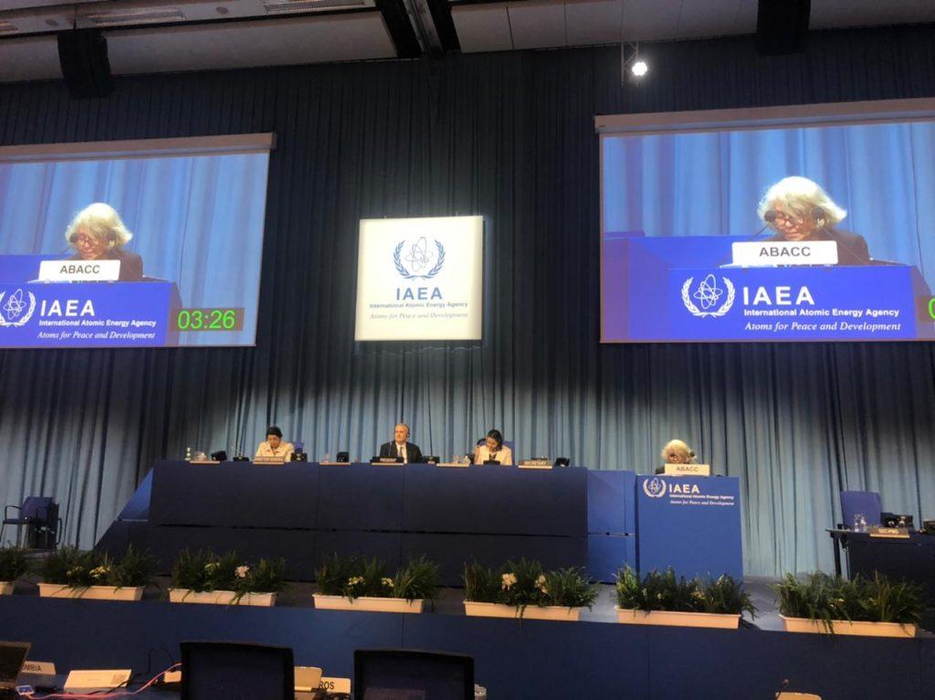 La ABACC presente en la 65° Conferencia General del OIEA